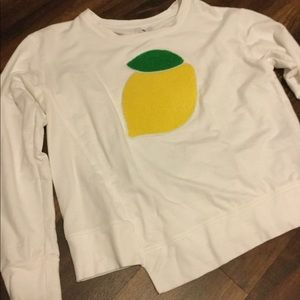 Sundry Lemon Long-Sleeved Shirt